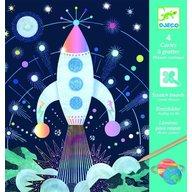 Djeco - Joc creativ de razuit Cosmos