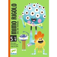 Djeco - Joc cu carti Mimo Rigolo