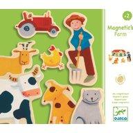 Djeco - Joc cu magneti Ferma