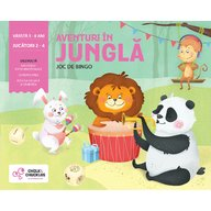 Chalk and Chuckles - Joc de bingo Aventuri in jungla