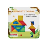 Magplayer - Set de constructie Magnetic Tangram 9 piese