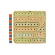 Masterkidz - Joc de numarat si socotit, din lemn, +3 ani,