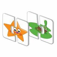 THE LEARNING JOURNEY - Puzzle educativ Culori si forme Set de potrivire Puzzle Copii, piese 30
