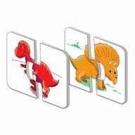 THE LEARNING JOURNEY - Puzzle educativ Dinozauri Set de potrivire Puzzle Copii, piese 30