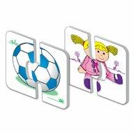 THE LEARNING JOURNEY - Puzzle educativ Jucarii Set de potrivire Puzzle Copii, piese 30