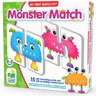 THE LEARNING JOURNEY - Puzzle educativ Monstrii Set de potrivire Puzzle Copii, piese 30