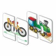 THE LEARNING JOURNEY - Puzzle educativ Vehicule Set de potrivire Puzzle Copii, piese 30