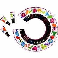 Fiesta Crafts - Joc Domino Circular Natura