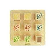 Masterkidz - Joc educativ Cuburile sonore, din lemn, +1 an,