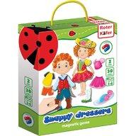 Roter Kafer - Joc educativ magnetic Snappy dressers  RK3204-04