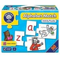 Orchard Toys - Joc educativ - puzzle in limba engleza Invata alfabetul prin asociere - Alphabet match