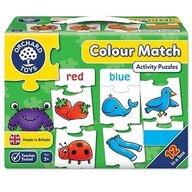 Orchard Toys - Joc educativ - puzzle in limba engleza Invata culorile prin asociere - Colour match