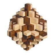 Fridolin - Joc logic IQ din lemn bambus 3D Iceberg