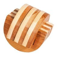 Fridolin - Joc logic IQ din lemn bambus Cleme
