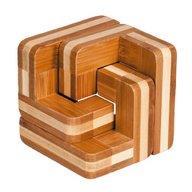 Fridolin - Joc logic IQ din lemn bambus Scari
