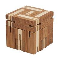 Fridolin - Joc logic Flexi-cub - puzzle 3D din bambus