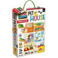 LISCIANI - Joc Montessori - Casuta animalelor de companie