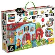 LISCIANI - Joc Montessori - Casuta animalelor fantastice