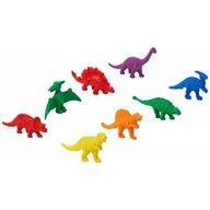 Commotion - Set figurine Dinozauri Pentru sortare, 128 piese