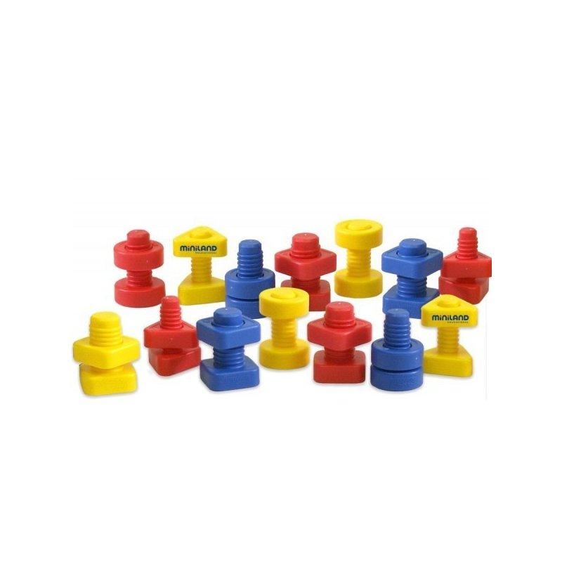 Miniland Joc Suruburi si Piulite Miniland din categoria Jucarii educative de la Miniland