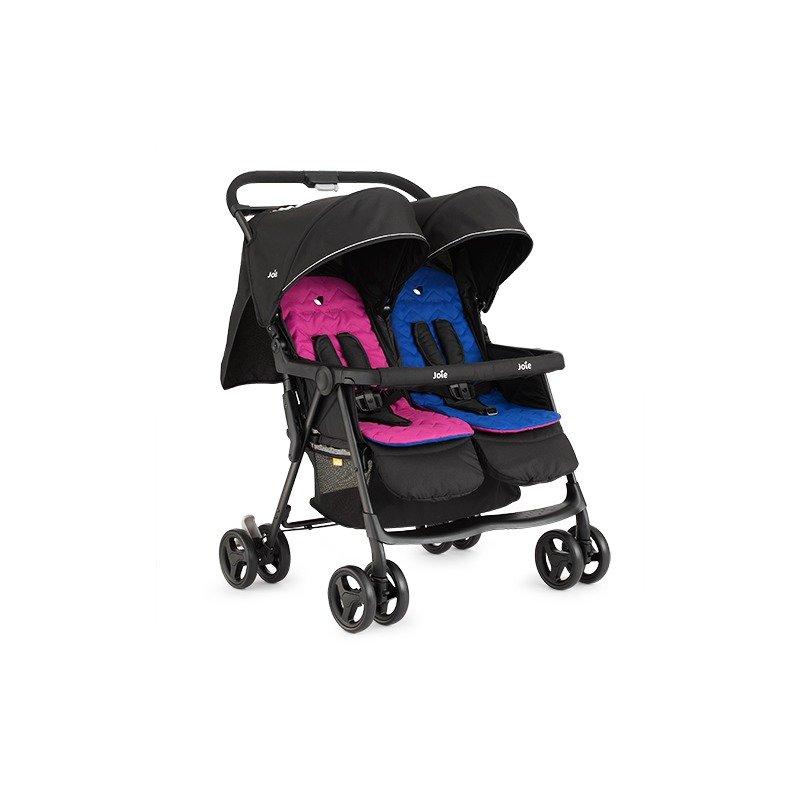 Joie Carucior de gemeni Aire Twin Pink/Blue din categoria Carucioare copii de la Joie