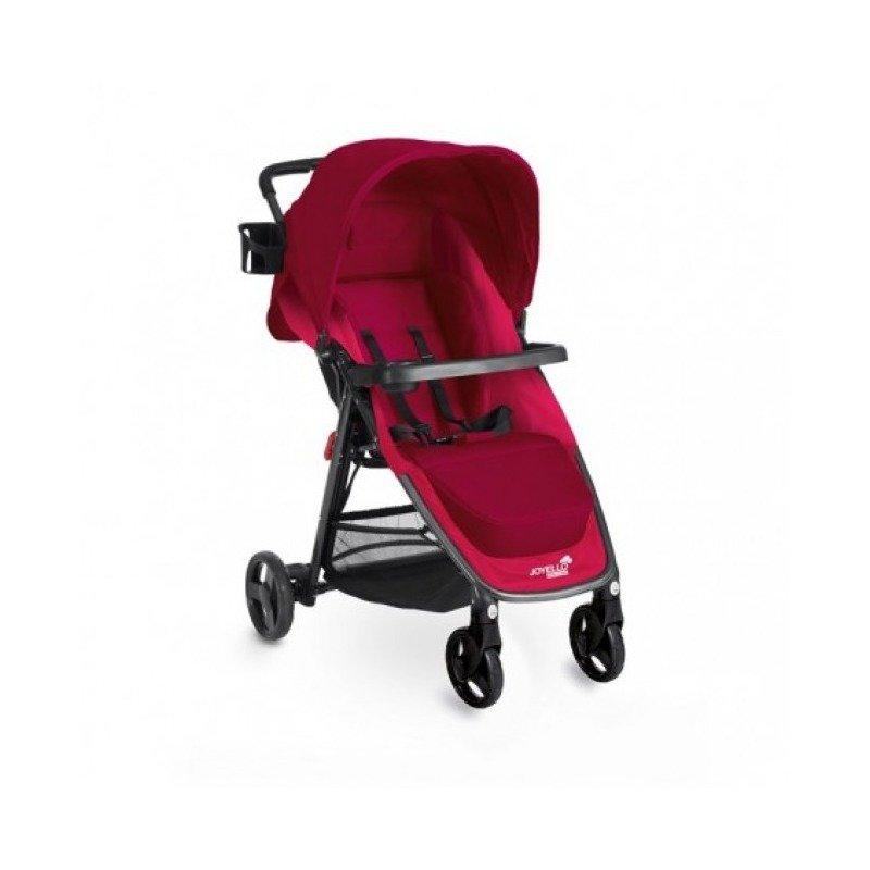 Joyello Carucior Joyello DIN-AMICO 4 – Rosu din categoria Carucioare copii de la Joyello