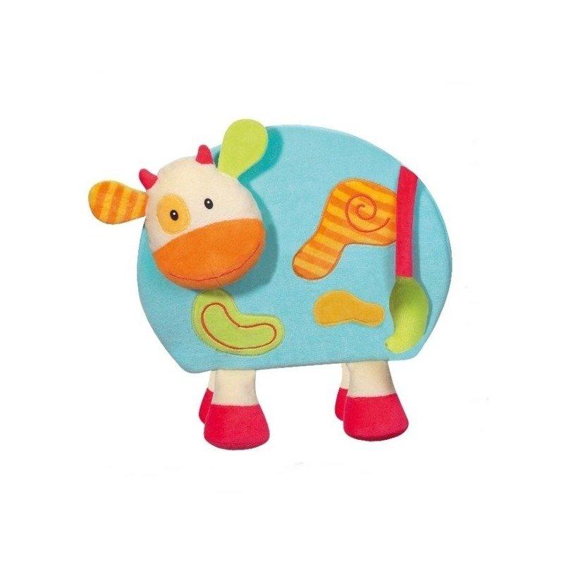 Jucarie – Vacuta magnetica cu creion – Brevi Soft Toys din categoria Jucarii educative de la Brevi Soft Toys