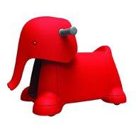 Prince Lionheart - Jucarie cu roti Yetizoo Elefant, Rosu