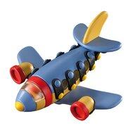 Mic o Mic - Set de constructie Avion cu reactie 3D, 13 cm