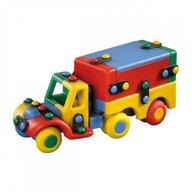 Mic o Mic - Set de constructie Camion 3D, 15.9 cm