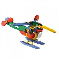 Mic o Mic - Set de constructie Elicopter 3D, 17.7 cm