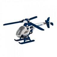 Mic o Mic - Set de constructie Elicopterul politiei 3D, 21 cm