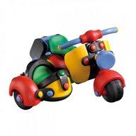 Mic o Mic - Set de constructie Motocicleta cu atas 3D, 12.7 cm