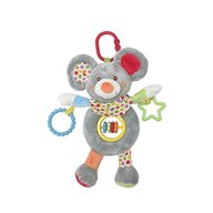 Lorelli Toys - Jucarie carucior Soricel Cu activitati, 24 cm din Plus
