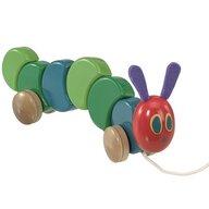 Rainbow Design - Jucarie de tras  Cu roti, 26 cm The Very Hungry Caterpillar