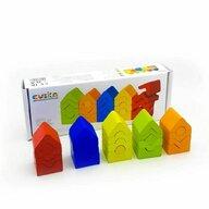 Cubika - Set de constructie Turnuri din Lemn