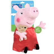 Play by Play - Jucarie din plus Cu sunete, 21 cm Peppa Pig