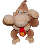 Play by Play - Jucarie din plus Donkey Kong II 30 cm Super Mario