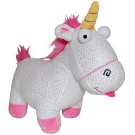 Play by Play - Jucarie din plus Sparkle Fluffy Unicorn 24 cm Despicable Me