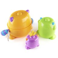 Fisher Price - Jucarie multifunctionala Micutii Monstri 3 in 1 by Mattel Infant