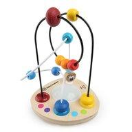 Baby Einstein - Jucarie motrica cu bile din lemn Hape Color Mixer