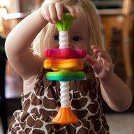 Fat Brain Toys - Jucarie motricitate MiniSpinny