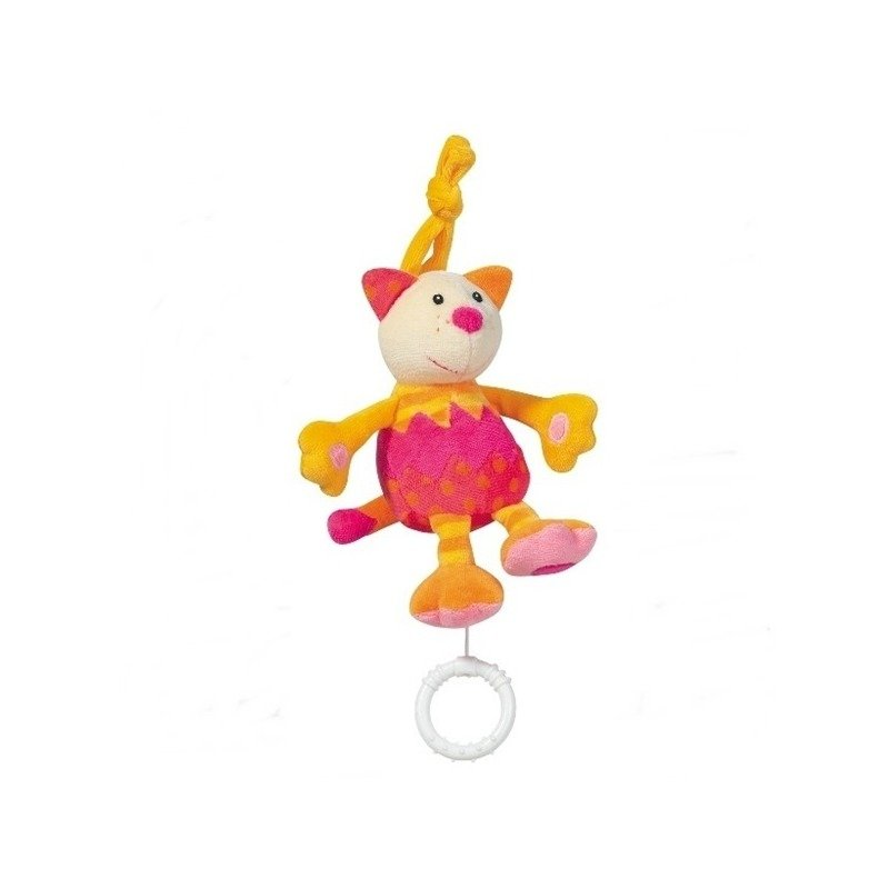 Jucarie muzicala Pisicuta - Brevi Soft Toys