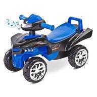Toyz - Vehicul de impins Mini Raptor 2 in 1, Cu sunete, Cu lumini, Albastru