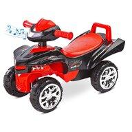 Toyz - Vehicul de impins Mini Raptor 2 in 1, Cu sunete, Cu lumini, Rosu