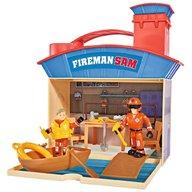 Simba - Jucarie Statie salvamar Ocean Rescue Fireman Sam Wasserwacht cu 2 figurine si accesorii