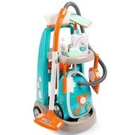 Smoby - Jucarie set curatenie cu troller si aspirator electronic