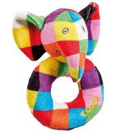 Rainbow Design - Zornaitoare de plus Elefantul Elmer 12 cm