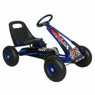 M-Toys - Kart Cu volan, Cu pedale, Albastru