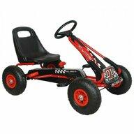 M-Toys - Kart Cu volan, Cu pedale, Rosu